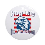 Hug Me Ornament (Round)