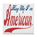 Hug Me Tile Coaster
