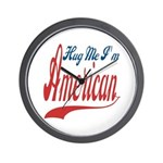 Hug Me Wall Clock