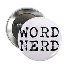 "Word Nerd 2.25"" Button (10 pack)"