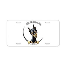 Miniature Pinscher IAAM Aluminum License Plate