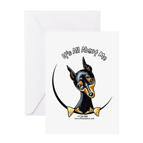 Miniature Pinscher IAAM Greeting Card