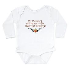 Cute Punk baby Long Sleeve Infant Bodysuit