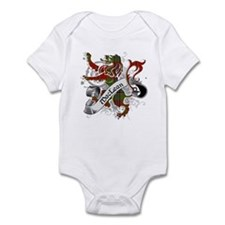 MacLean Tartan Lion Infant Bodysuit