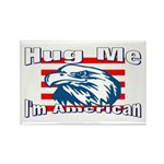 Hug Me Rectangle Magnet