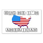 Hug Me Rectangle Sticker