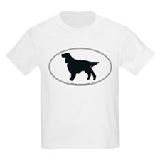 Gordon Setter Silhouette Kids T-Shirt