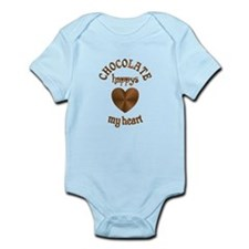 Chocolate Heart Infant Bodysuit