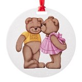 Teddy Love Ornament