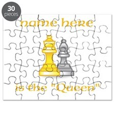 Personalized Queen Shirt Puzzle