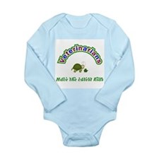 Unique Pet care Long Sleeve Infant Bodysuit