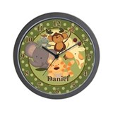 Jungle Safari Clock - Daniel Wall Clock