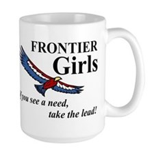 Frontier Girls Motto - Color Mug