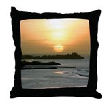 Guam Island Chat Throw Pillow