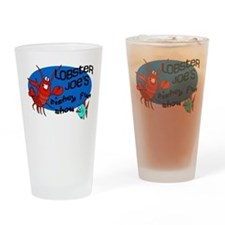 Lobster Joe's Fishey Fun Show Drinking Glass