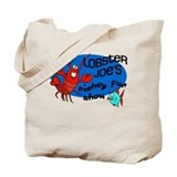 Lobster Joe's Fishey Fun Show Tote Bag