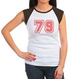 Varsity Uniform Number 79 (Pink) Tee