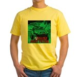 Zombie night patrol Yellow T-Shirt