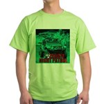Zombie night patrol Green T-Shirt