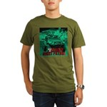 Zombie night patrol Organic Men's T-Shirt (dark)