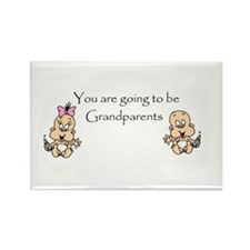 You are going to be Grandpare Rectangle Magnet (10