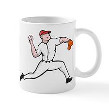 Baseball Pitcher Player Throwing Mug