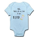 Party at my Crib BYOB Infant Bodysuit