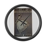 Pearl Lover-5 Large Wall Clock