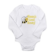 Cute Mommy's little honey Long Sleeve Infant Bodysuit