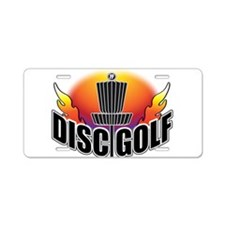 DISC GOLF NEW Aluminum License Plate