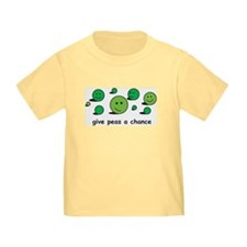 Give Peas a Chance Toddler Tee