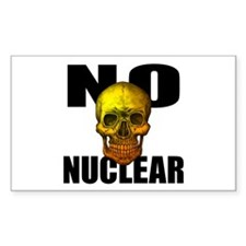 NO NUCLEAR SKULL Decal