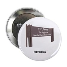 "Fort Bragg with Text 2.25"" Button"