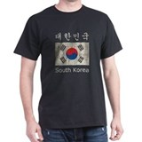 Vintage South Korea Flag T-Shirt