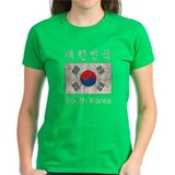 Vintage South Korea Flag Tee