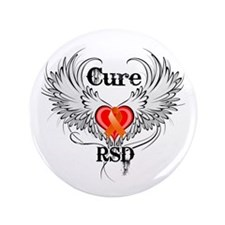 "Cure RSD 3.5"" Button (100 pack)"