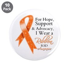 """Hope Support RSD 3.5"""" Button (10 pack)"""