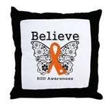 Believe Butterfly RSD Throw Pillow