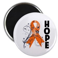 Flower Hope Ribbon RSD Magnet