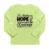 Inspire Hope RSD Awareness Long Sleeve Infant T-Sh