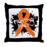 Fighting Back Against RSD Throw Pillow