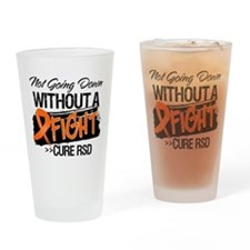 Not Going Down Cure RSD Drinking Glass