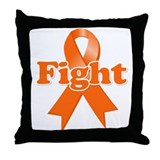 Fight Reflex Sympathetic Dystrophy Throw Pillow