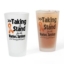 Taking a Stand RSD Drinking Glass