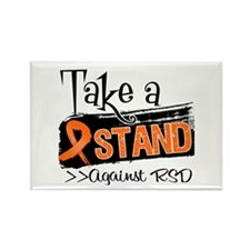 Take a Stand Against RSD Rectangle Magnet