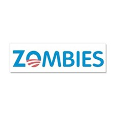 Zombies Car Magnet 10 x 3