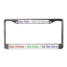 5 Solas License Plate Frame