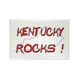 Kentucky Rocks ! Rectangle Magnet (10 pack)