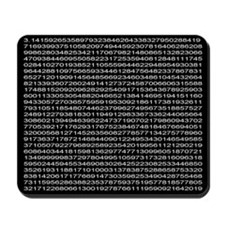 1,000 digits of pi Mousepad