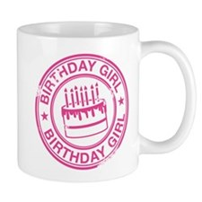 Birthday Girl Hot Pink Mug